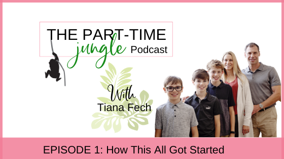 How did this all get started? The Part-Time Jungle Podcast came about to create a space to talk about all the ways to swing motherhood and work.