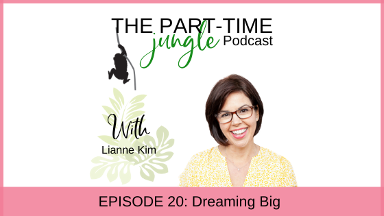 Lianne Kim, of Mamas & Co., talks about dreaming big, that we all have to take those first few steps when we want to make a change, the importance of prioritizing, starting with a clear vision of the mom you want to be, and designing a business that fits your life and not the other way around.