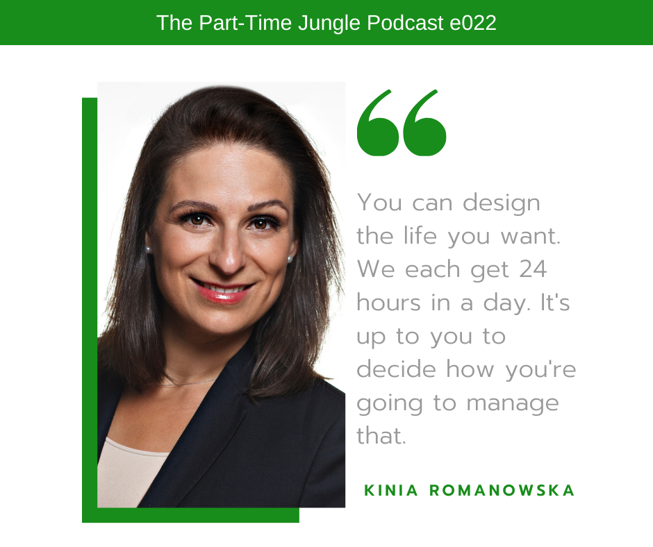 Kinia Romanowska, the founder and CEO of Pros&Babes, talks about being the CEO of your life by getting focused on
