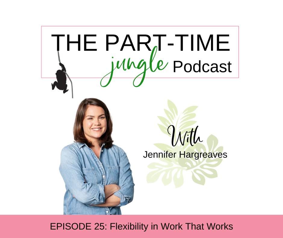 Jennifer Hargreaves, founder and CEO of tellent, talks about being present in motherhood and work, flexibility in the workplace, and leveraging your existing network.