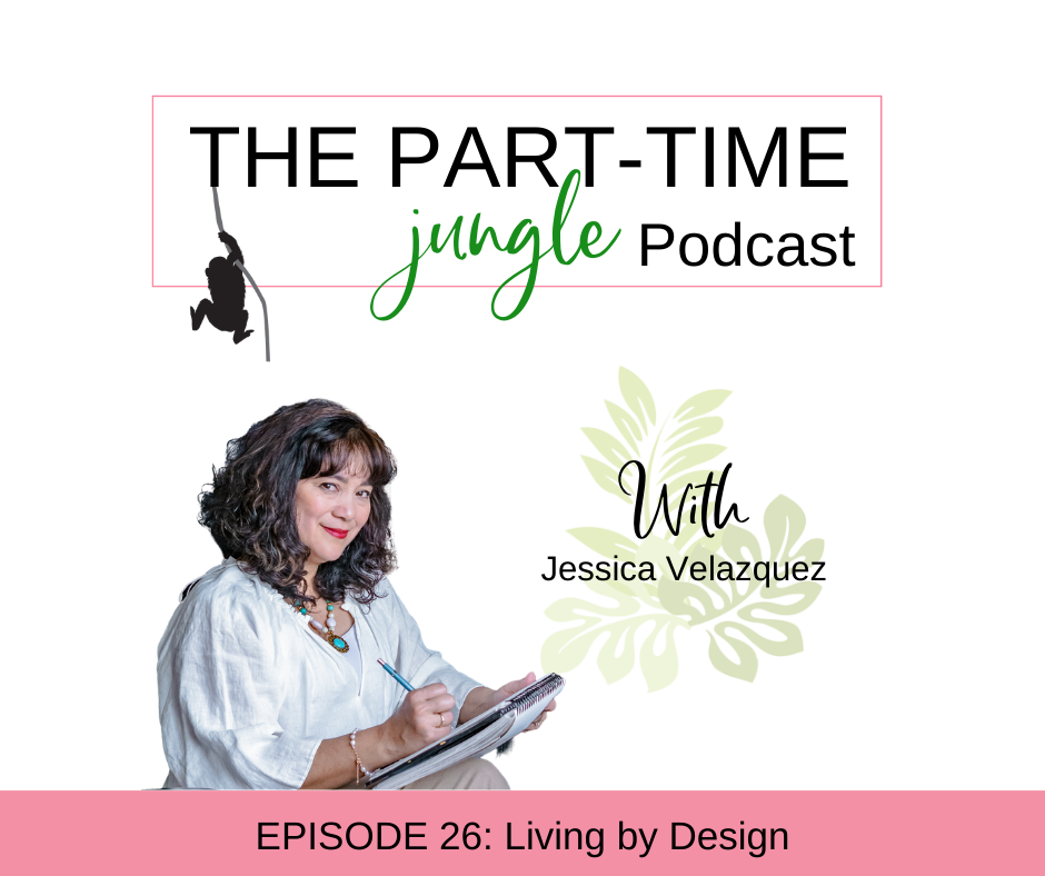 Jessica Velazquez, of Interiors by Jessica, talks about being mindful of our own decisions and actions, taking that first step before we are ready, and how the pillars of living by design - clarity, vision, and planning - apply to both the spaces in our home and our lives.