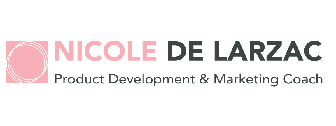 Nicole de Larzac is a product development & marketing coach.