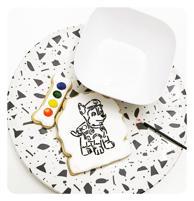 Stephanie Cohen, of Yours Truly Cookies, makes paint your own cookies with a variety of designs!
