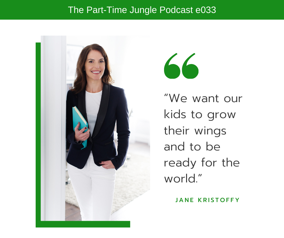 Jane Kristoffy, of Right Track Educational Services, talks about launching our kids and how we, as parents, want our kids to grow their wings and to be ready for the world.