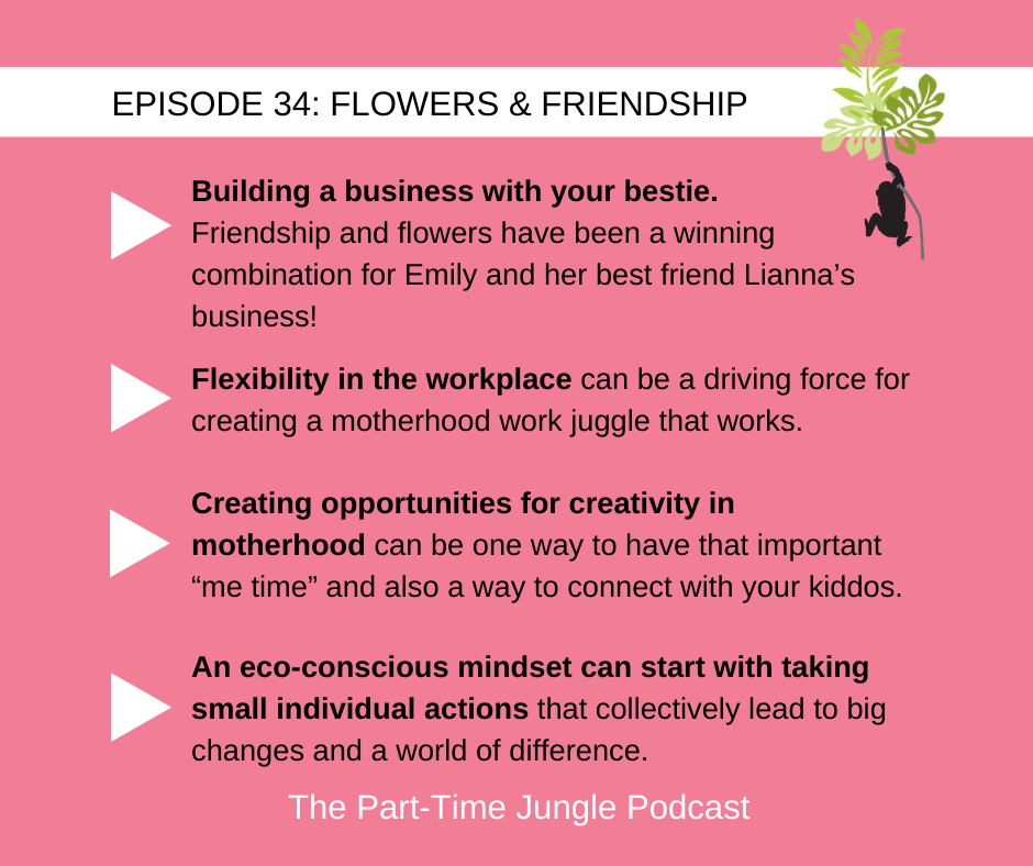 Emily MacLellan, of Evyrose, talks about building a business with your bestie, flexibility in the workplace, creating opportunities for creativity in motherhood, and how an eco-conscious mindset can start with taking small individual action.