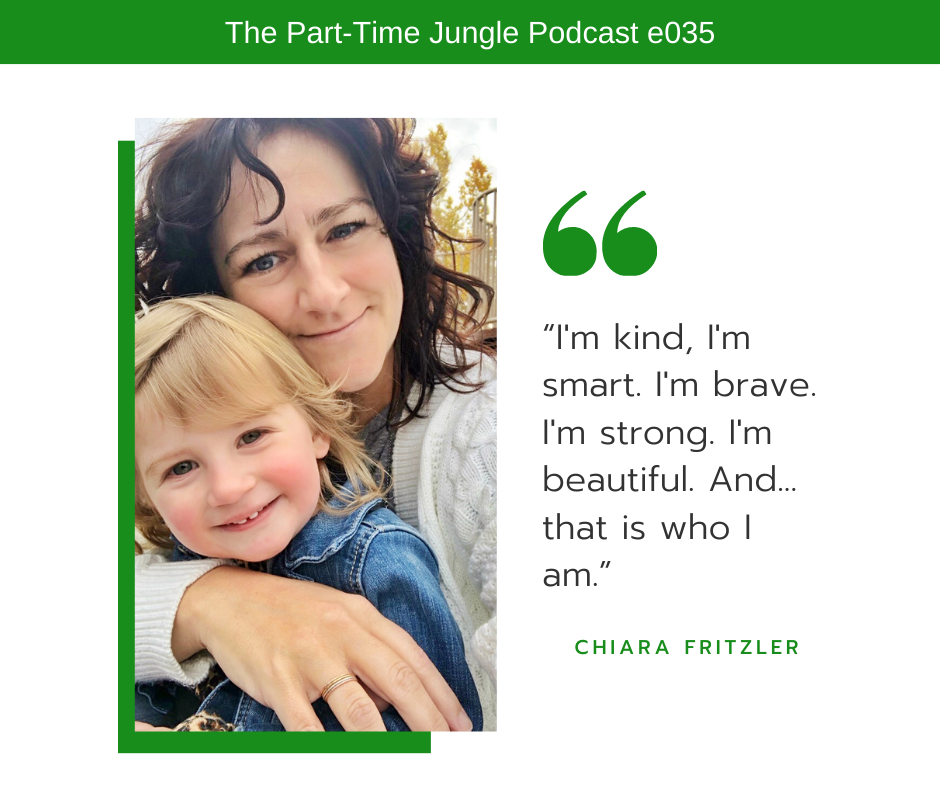 Chiara Fritzler, of Carry on Chiara, talks about the words she and her daughter say together every morning.