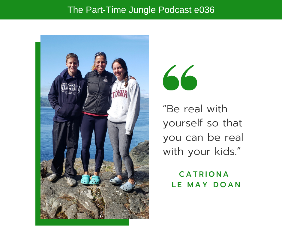 Catriona Le May Doan, Olympic & World Champion speed skater, President & CEO, & mom of two, takes us behind the scenes.