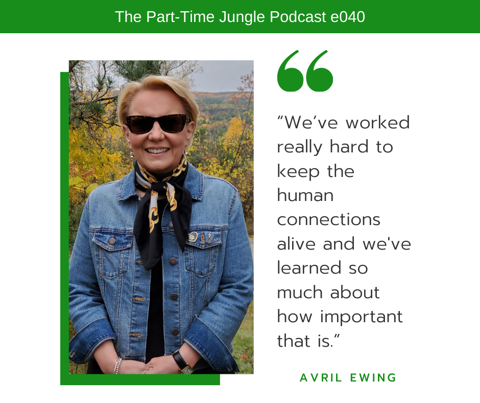 Avril Ewing, an ordained wedding officiant & celebrant, talks about the importance of human connections.
