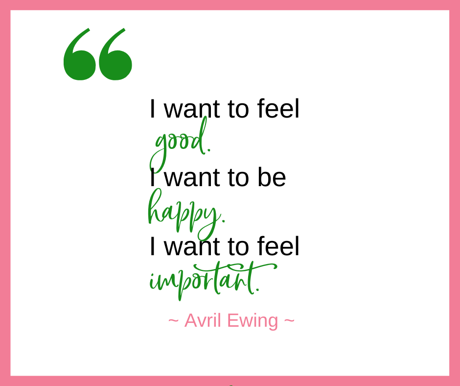 Avril Ewing, an ordained wedding officiant & celebrant, talks about her definition of success.
